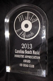 sidebar_2013 Carolina Beach Music Industry Appreciation Award